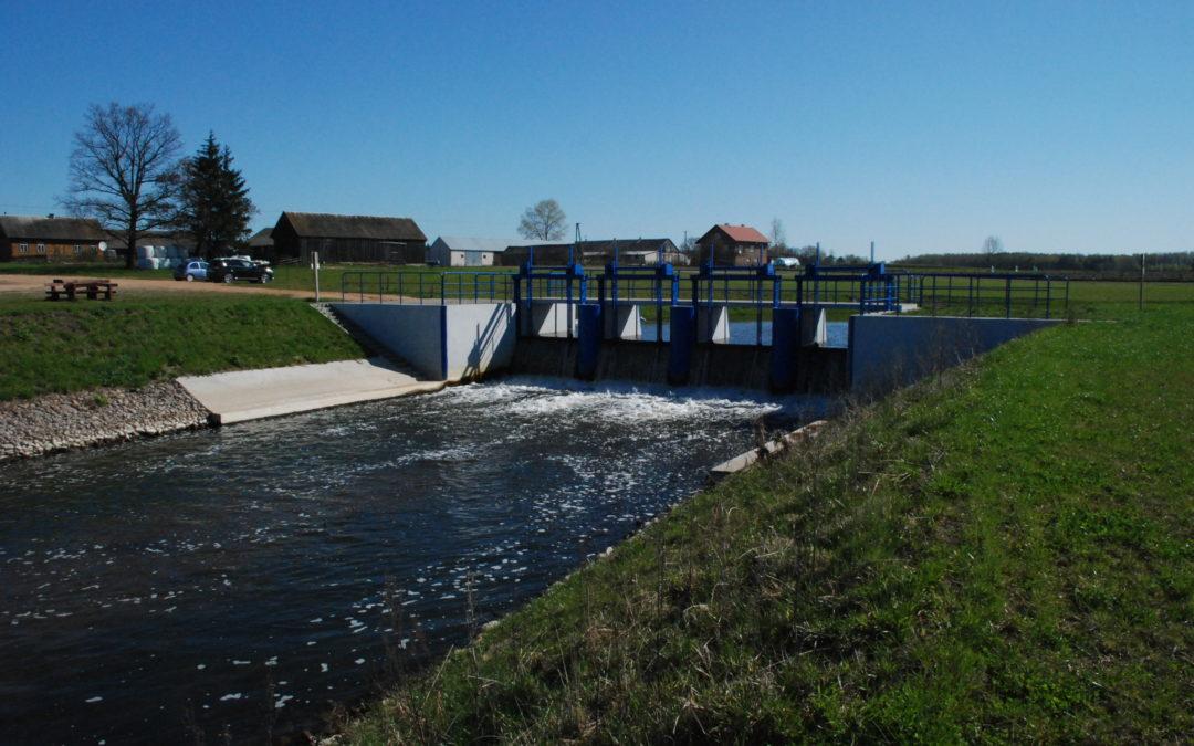 Budowa jazu wraz ze zbiornikiem retencyjnym Otapy -Kiersnówek