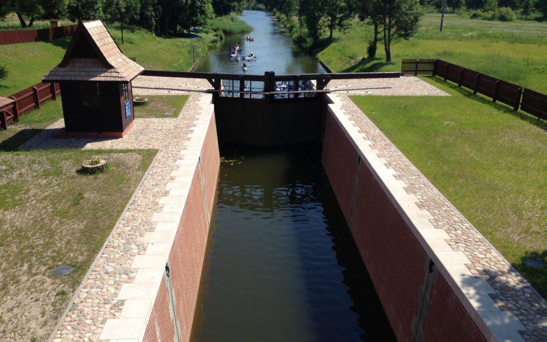 Remont zabytkowej śluzy Mikaszówka na Kanale Augustowskim