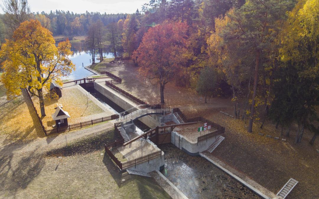 Remont Zabytkowej śluzy Swoboda na Kanale Augustowskim